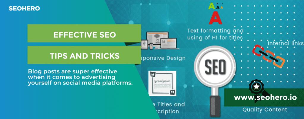Effective Search Engine Optimization