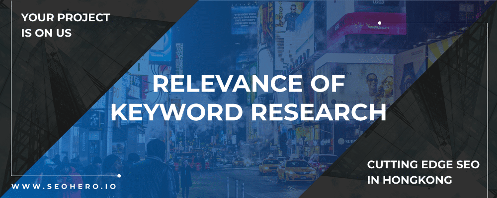 relevance of keyword research
