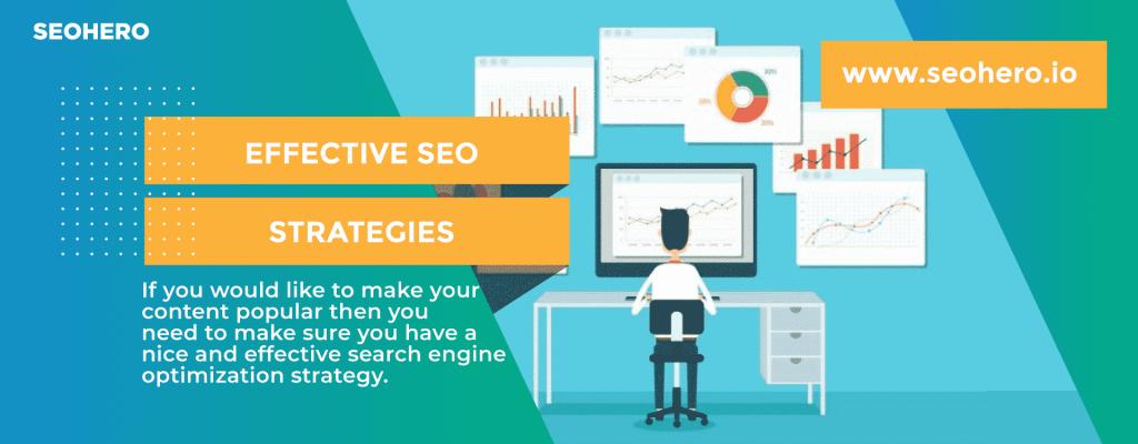 effective SEO strategies