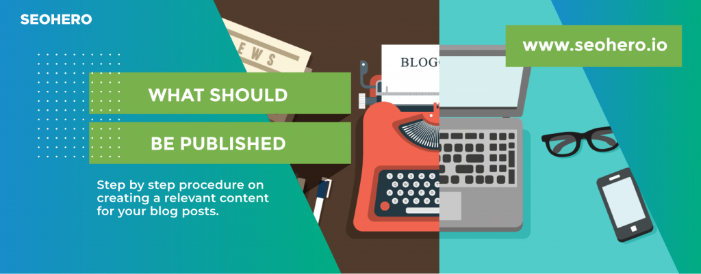 what should be published on the blog