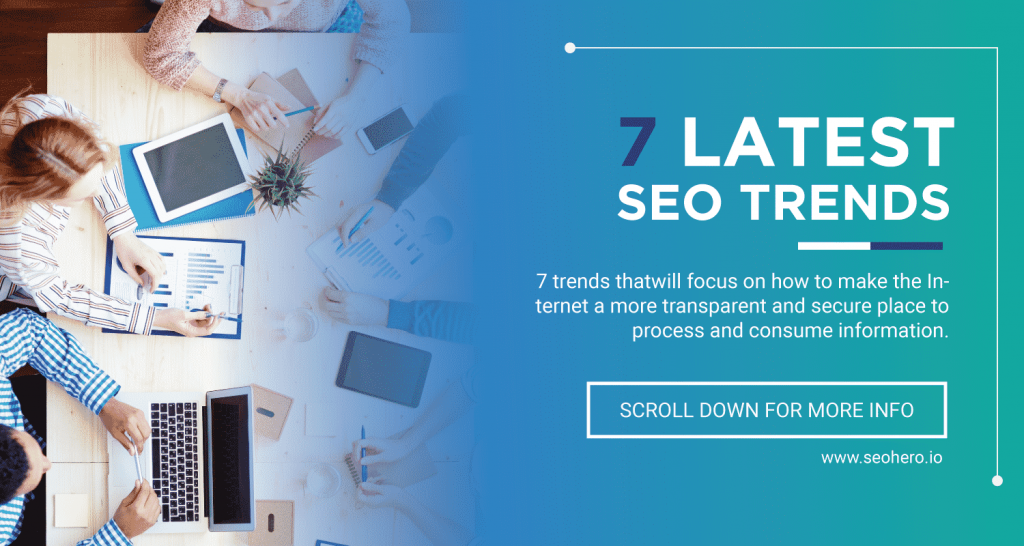 7 latest SEO Trends