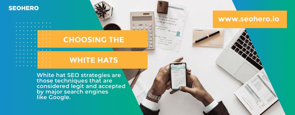 choosing white hat seo