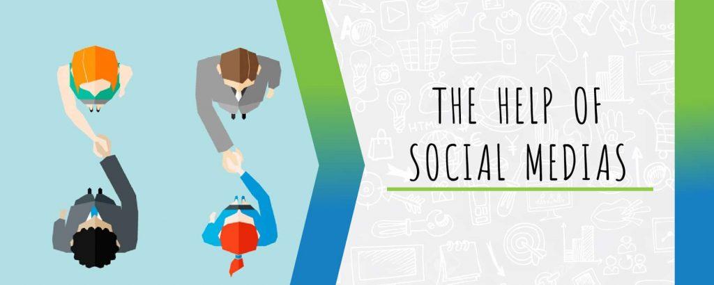 the help of social media
