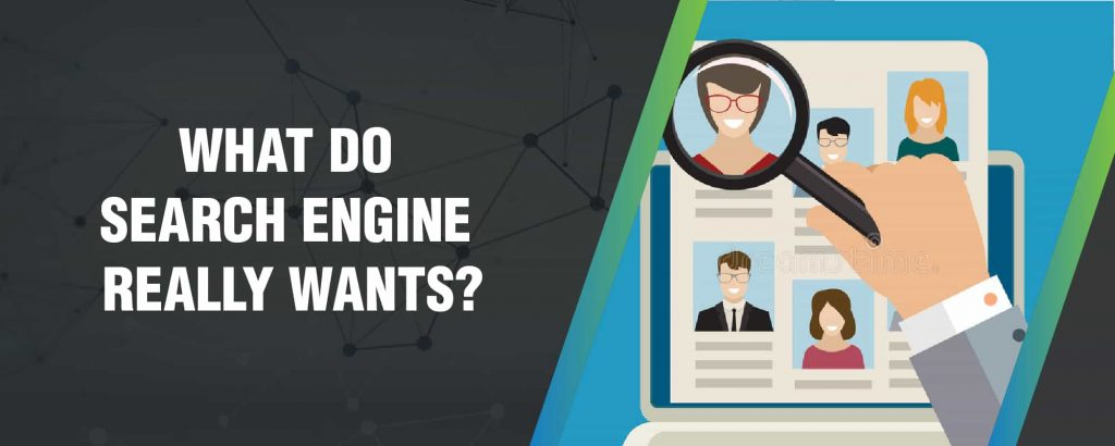 What search engines really want