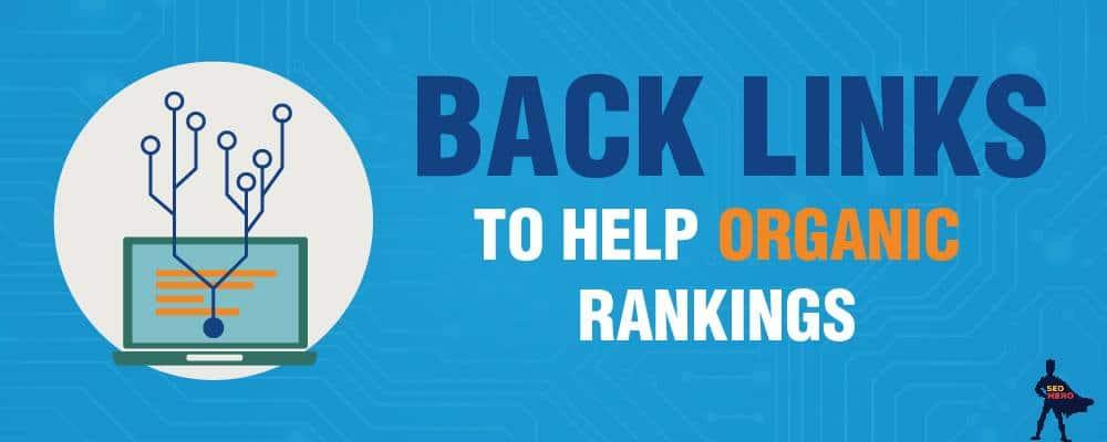 backlinks organic ranking