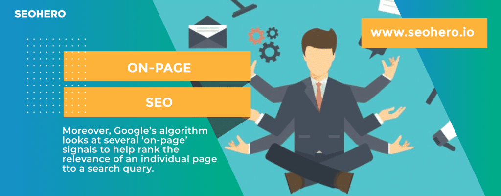 how on page seo contributes