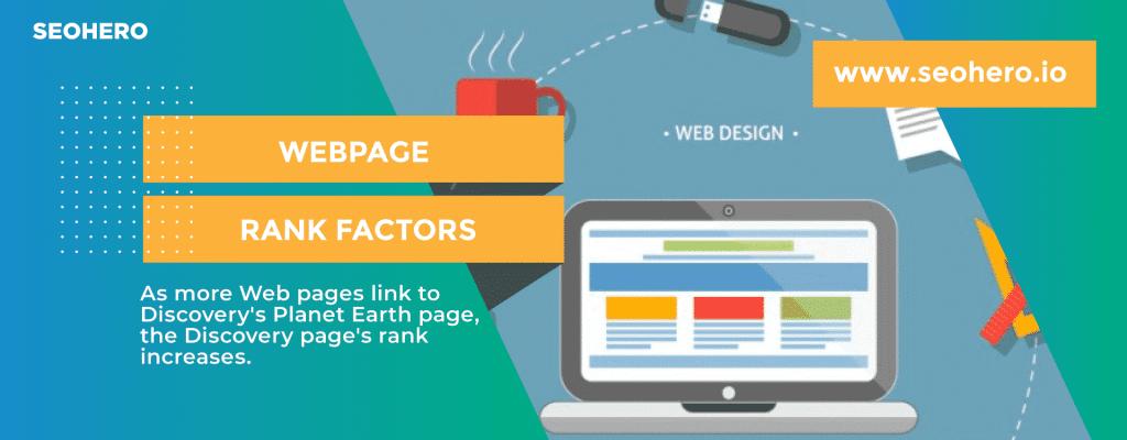webpage rank factors